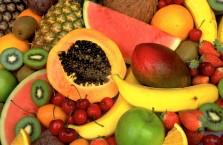 Ягоды и фрукты: калорийность в таблице по убыванию