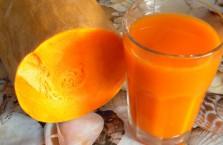 Сок из тыквы - полезные свойства, вред