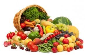Калорийность овощей и фруктов