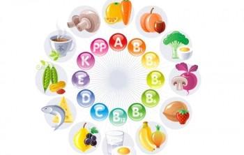 Содержание витаминов в продуктах (таблица)