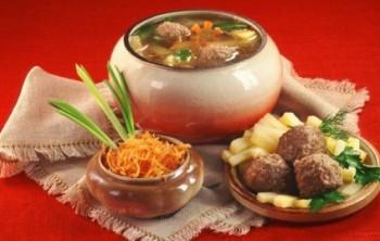 Калорийность готовых блюд - таблица