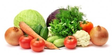 Овощи без крахмала